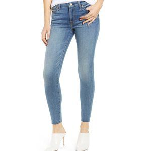7 For All Mankind Raw Hem Ankle Skinny Jeans